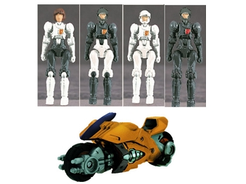 Takara Diaclone Reboot DA-41 DIA-NAUTS FEMALE TEAM with VIPER