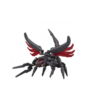 Takara Diaclone Reboot DA-43 WARUDER RAIDER BUG HEAD (DARK CATHODE TYPE)