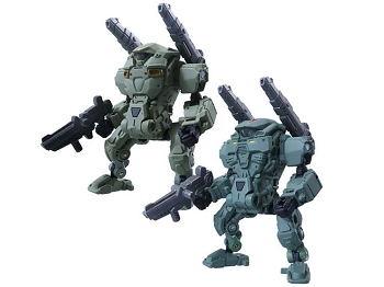 Takara Diaclone Reboot - DA-05 POWERED SUIT Set A & B Cosmic Marines Type