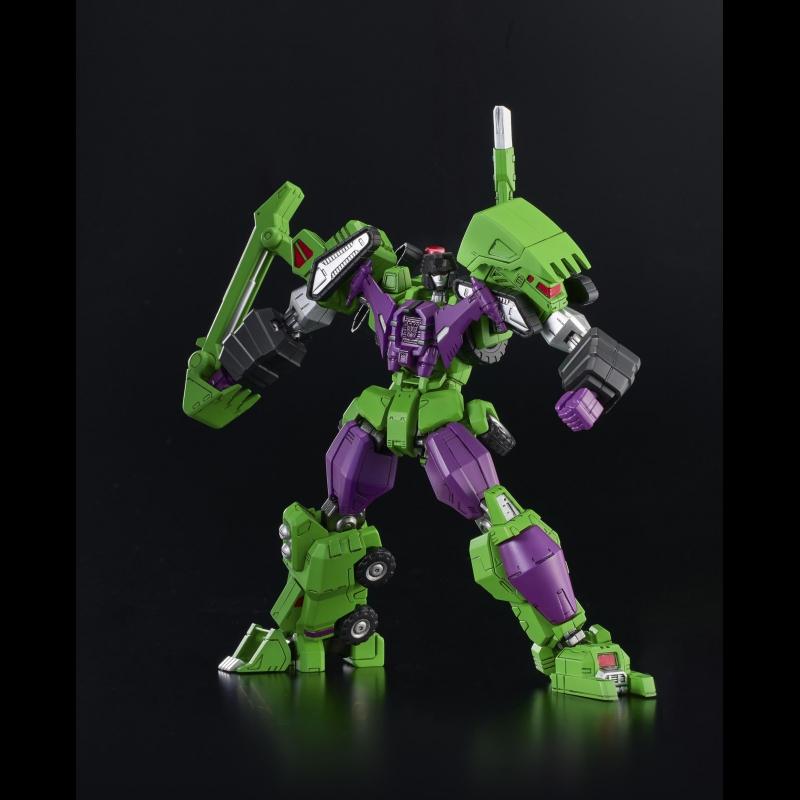 Flame Toys Model Kit Series Transformers Devastator