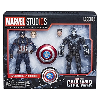 Marvel Legends Cinematic Universe 10th Anniversary: CAPTAIN AMERICA vs CROSSBONES