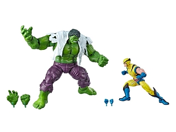 Marvel Legends 80th Anniversary HULK vs WOLVERINE 2-Pack
