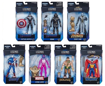 Marvel Legends AVENGERS Wave 3 BAF Thanos (Set of 7)