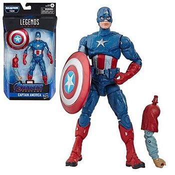 Marvel Legends AVENGERS Wave 5 BAF Thor  - Captain America