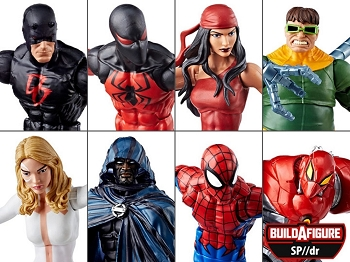 Marvel Legends AMAZING SPIDER-MAN WAVE 10 - BAF SP//dr Case of 8