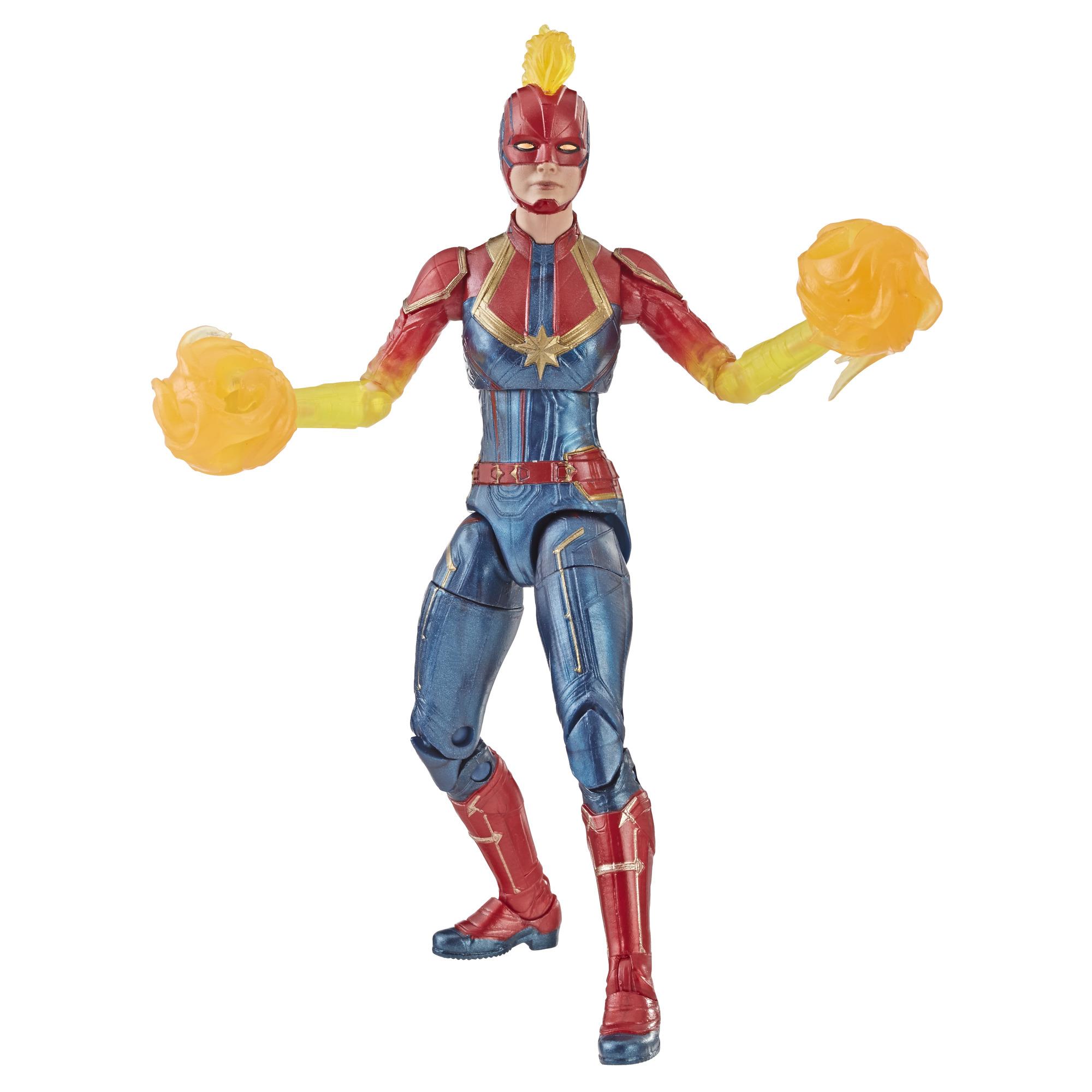 marvel legends captain marvel (binary form)