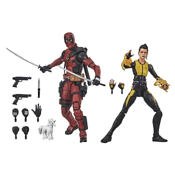 Marvel Legends 20th Anniversary DEADPOOL & NEGASONIC TEENAGE WARHEAD
