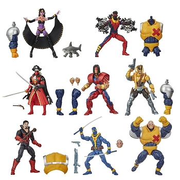 Marvel Legends Deadpool BAF Strong Guy (Set of 7)