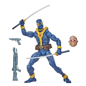 Marvel Legends Blue Deadpool BAF Strong Guy