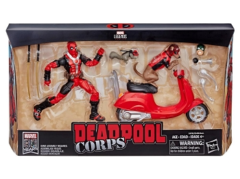 Marvel Legends DEADPOOL CORPS Set