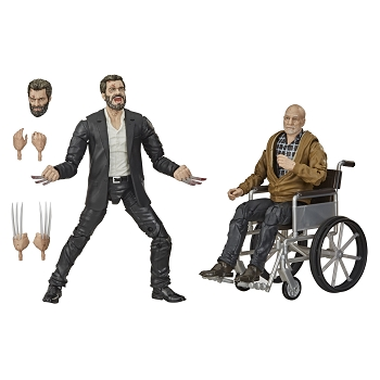 Marvel Legends LOGAN & CHARLES XAVIER