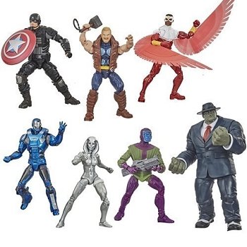 Marvel Legends Marvel's Avengers Wave 2 Set of 6 - BAF Joe Fixit