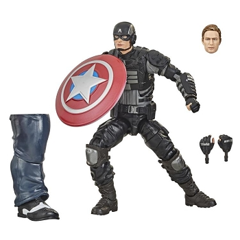Marvel Legends Marvel's Avengers CAPTAIN AMERICA - BAF Joe Fixit