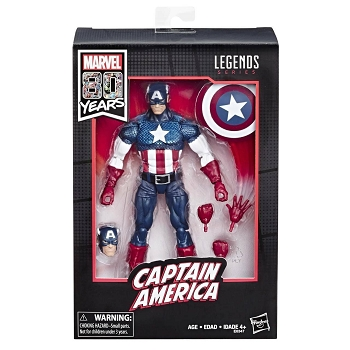 Marvel Legends MARVEL COMICS 80TH ANNIVERSARY CAPTAIN AMERICA