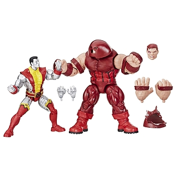 Marvel Legends MARVEL COMICS 80TH ANNIVERSARY COLOSSUS vs JUGGERNAUT 2-Pack