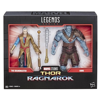 Marvel Legends MARVEL COMICS 80TH ANNIVERSARY THE GRANDMASTER & KORG  2-PACK