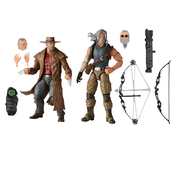Marvel Legends 20th Anniversary OLD MAN LOGAN & HAWKEYE