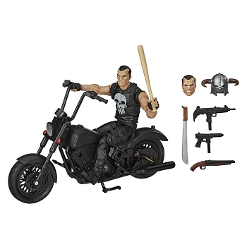 Marvel Legends THE PUNISHER with Motorcycle