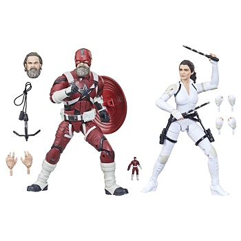 Marvel Legends Black Widow - RED GUARDIAN & MELINA 2-Pack