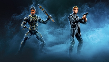 Marvel Legends Black Panther: EVERETT ROSS and ERIC KILLMONGER 2-Pack