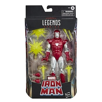 Marvel Legends Deluxe Retro SILVER CENTURION IRON MAN
