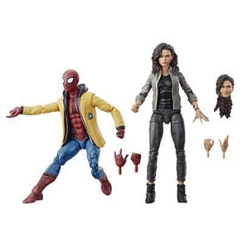 Marvel Legends Spider-Man: Homecoming SPIDER-MAN & MJ 2-Pack