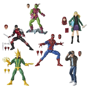 Marvel Legends Spider-Man Retro Wave 1 (Set of 6)
