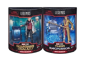 Marvel Legends THE COLLECTOR and GRANDMASTER Set