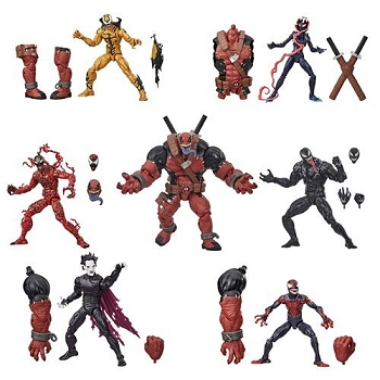 Marvel Legends Venom Series BAF Venompool (Set of 6)