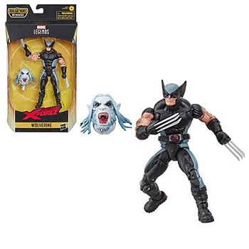 Marvel Legends X-FORCE BAF Wendigo WOLVERINE