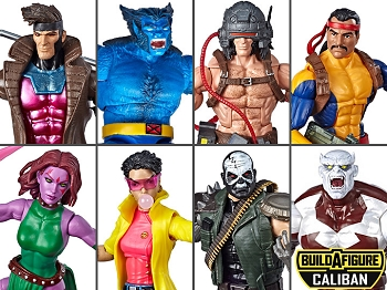 Marvel Legends X-Men Wave 4 BAF Caliban (Set of 7)