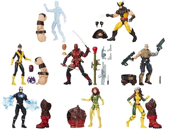 Marvel Legends X-MEN Wave 1 - BAF Juggernaut