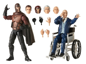 Marvel Legends X-Men 20th Anniversary MAGNETO & PROFESSOR X
