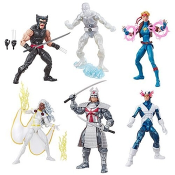 Marvel Legends X-Men Retro Wave 1 (Set of 6)