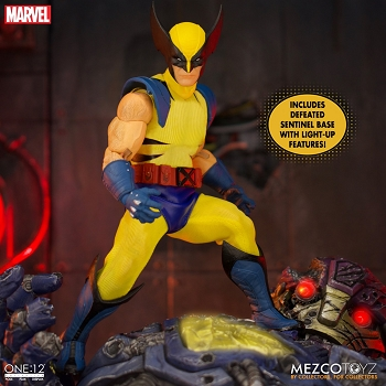 Mezco Marvel One:12 Wolverine - Deluxe Steel Box Edition
