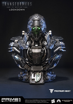 Prime1Studio Transformers: Age of Extinction LOCKDOWN Premium Bust (Pre-Owned)
