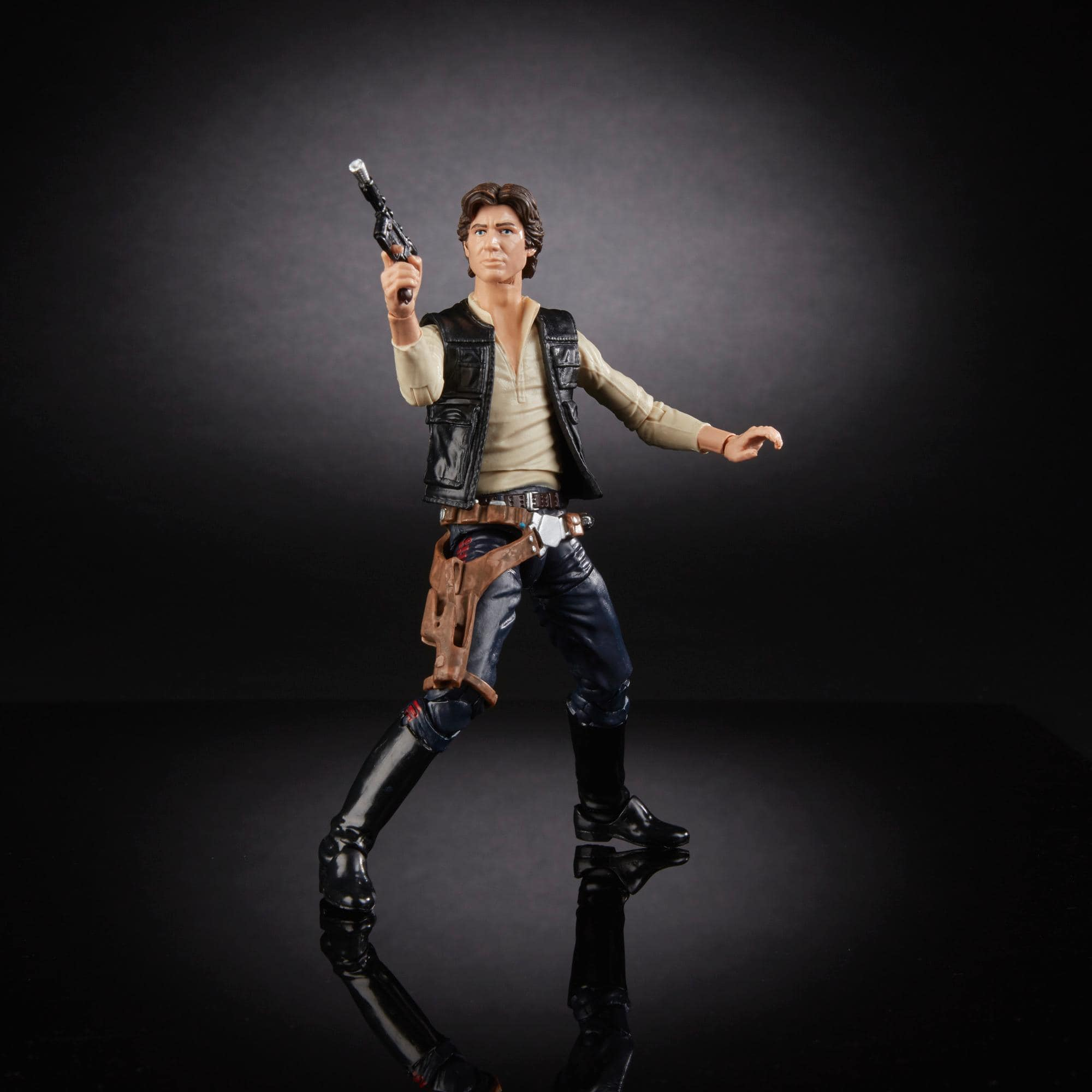 Star Wars Black Series 40th Anniversary Han Solo 6 inch Action Figure New