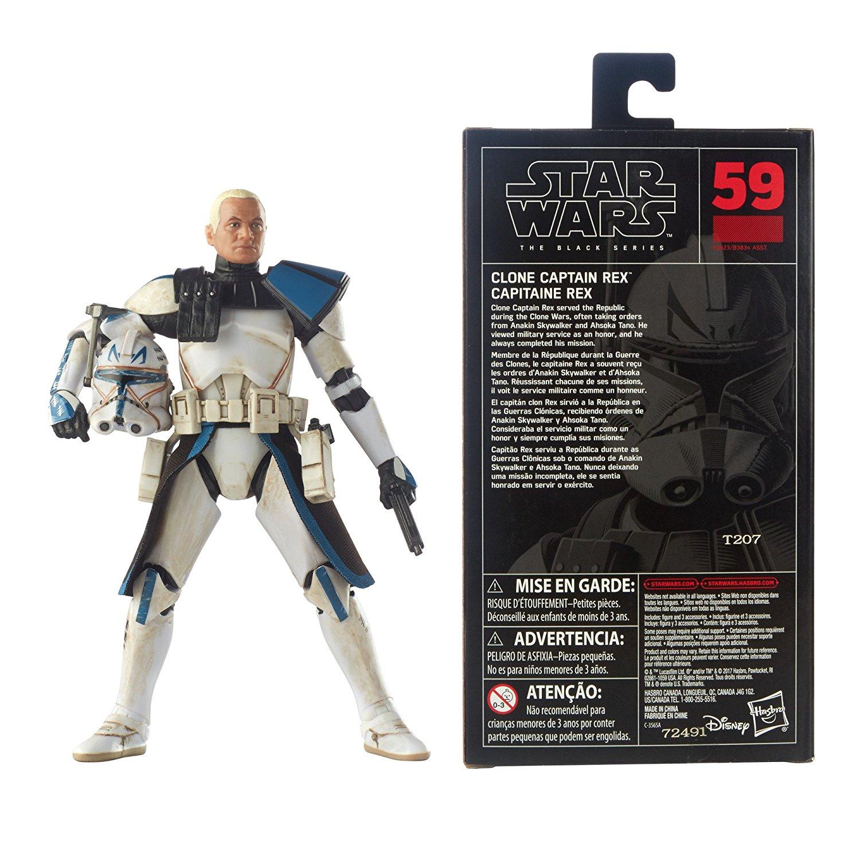 Hasbro Star Wars The Black Series Clone Captain Rex Action Figure