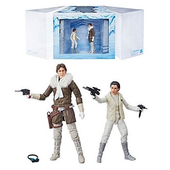 Star Wars Black Series HOTH PRINCESS LEIA and HAN SOLO