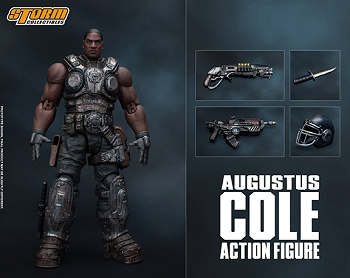 Storm Collectibles Gears of War AUGUSTUS COLE