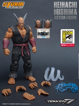 Storm Collectibles Tekken 7 HEIHACHI MISHIMA SDCC 2018 Exclusive