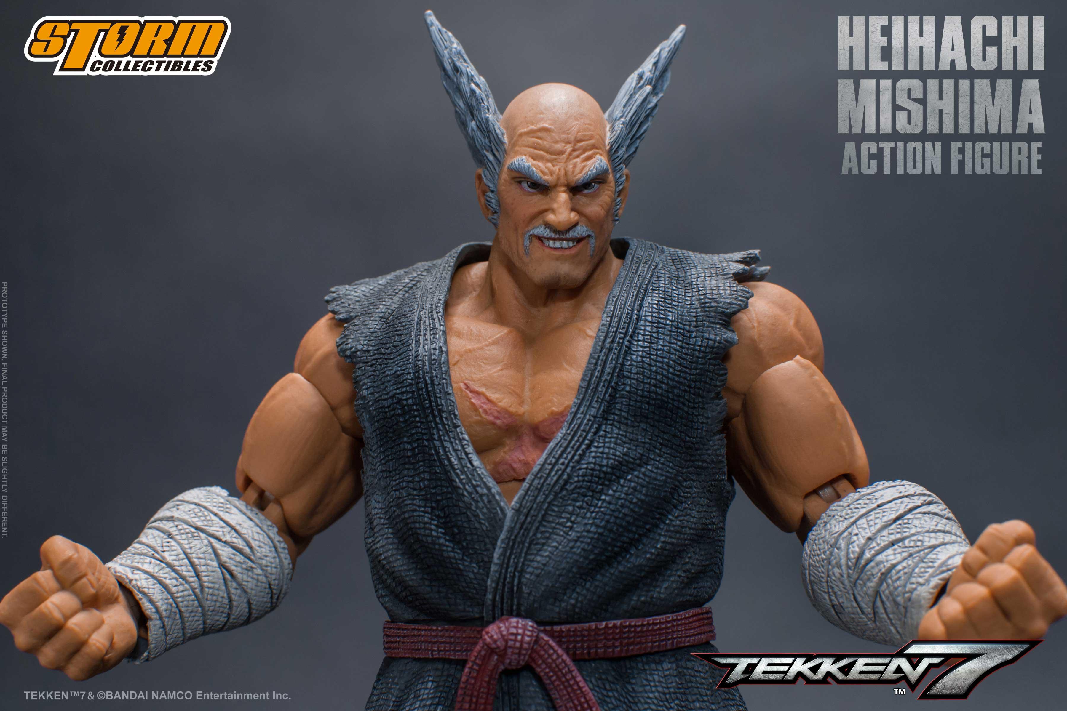 Storm Collectibles Tekken 7 Heihachi Mishima