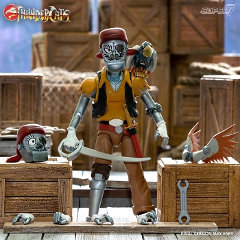 Super7 Thundercats Ultimates CAPTAIN CRAKER