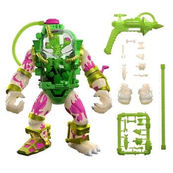 Super7 TMNT Ultimates MUTAGEN MAN (Glow in the Dark)