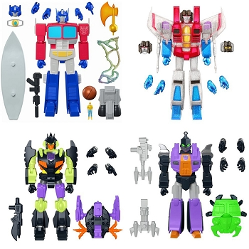 Super7 Transformers Ultimates Wave 1 (Set of 4)