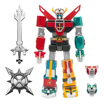 Super7 Voltron Defender of the Universe Toy Deco (Lion Team)