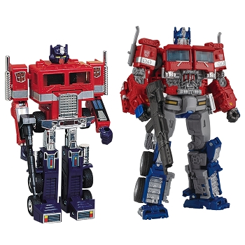 Takara Transformers 35th Anniversary Convoy and Optimus Prime Set