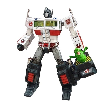 Transformers Ghostbusters Mash-Up – MP-10E OPTIMUS PRIME Ecto-35 Edition