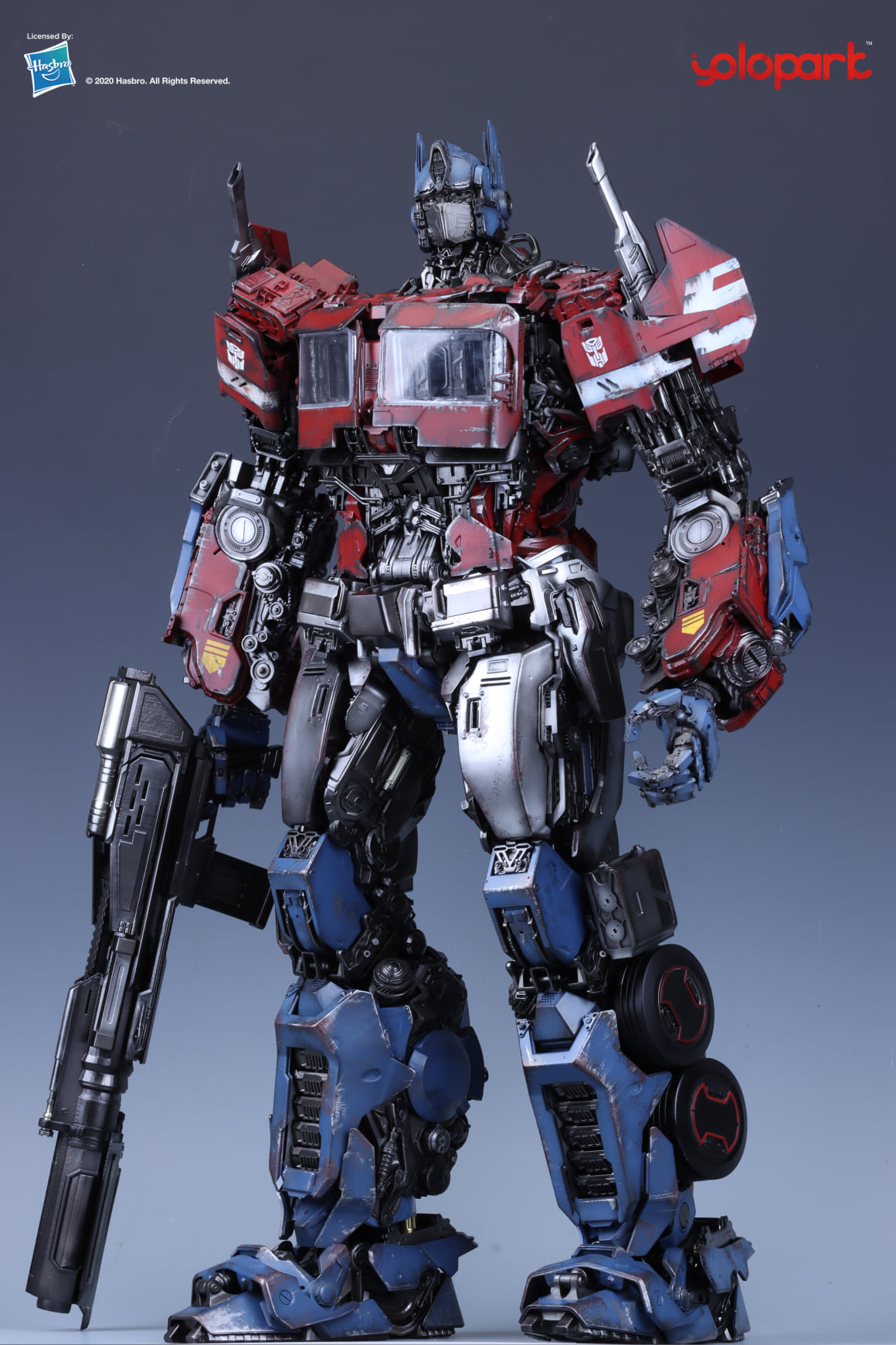 Transformers The Last Knight Optimus Prime Statue by Prime