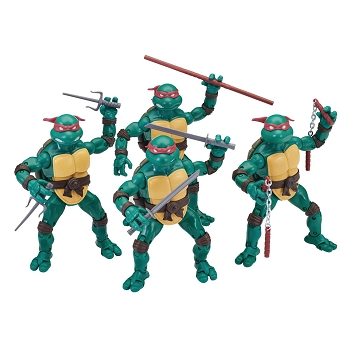 Playmates TMNT Ninja Elite Series Set of 4